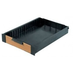 Rive Side Drawer Plastic with Wooden Front